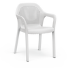 Chaise empilable blanc Thumb
