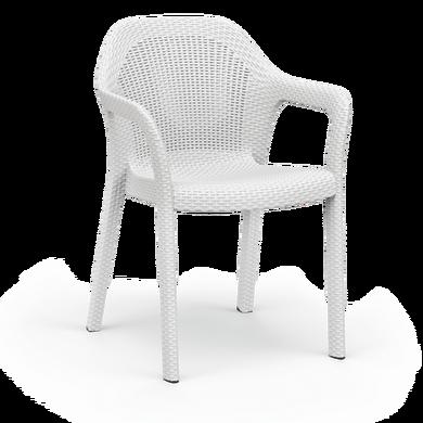Sedia impilabile bianco