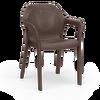 Στοιβαζόμενη καρέκλα mocha Thumb