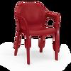 Στοιβαζόμενη καρέκλα scarlet red Thumb