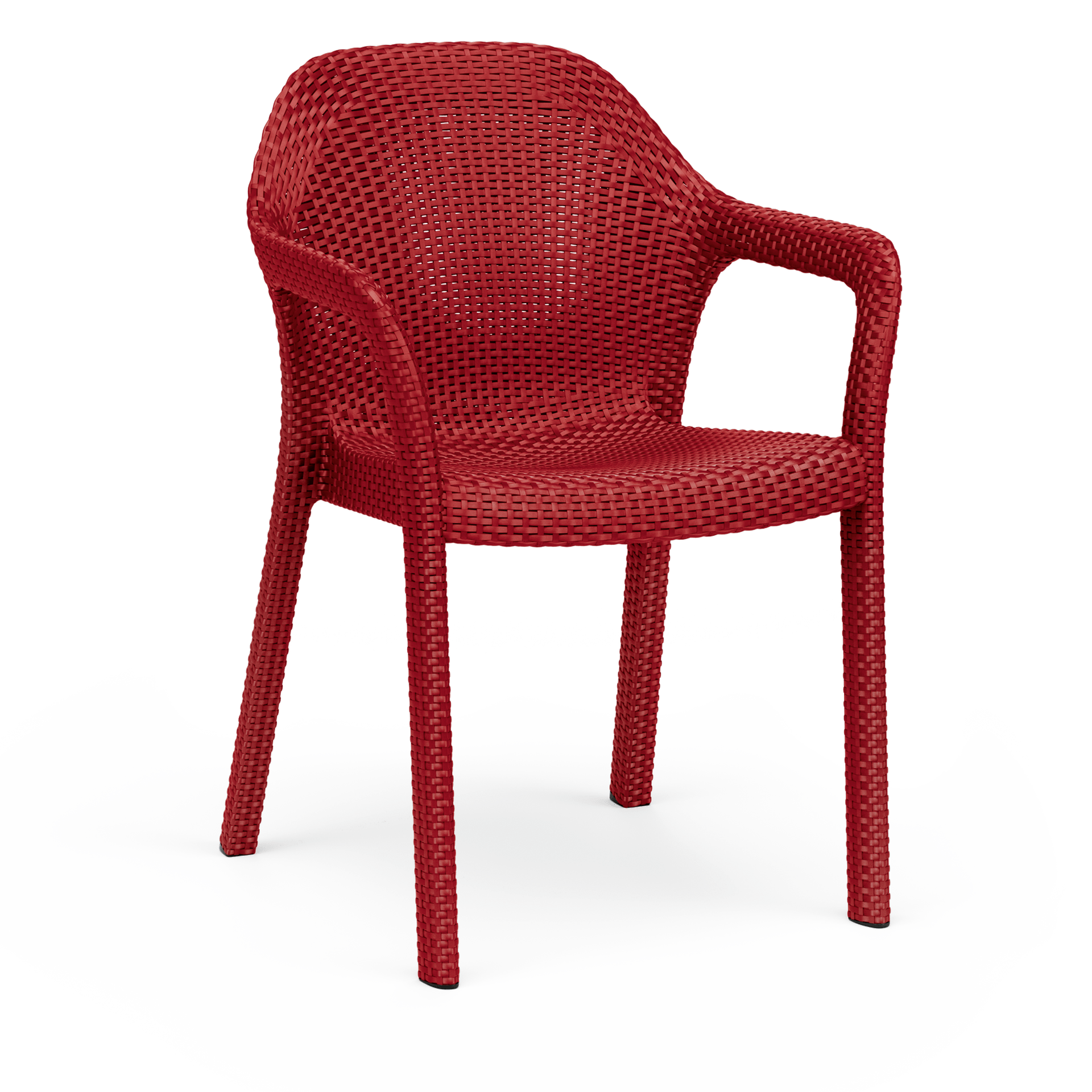 Chair scarlet red