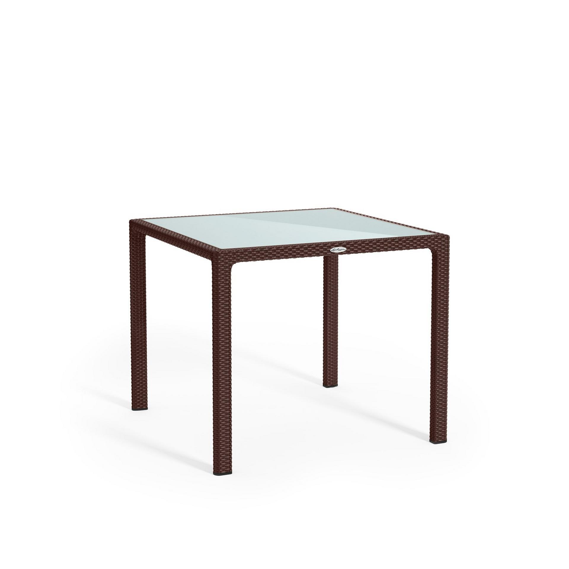 Small dining table mocha
