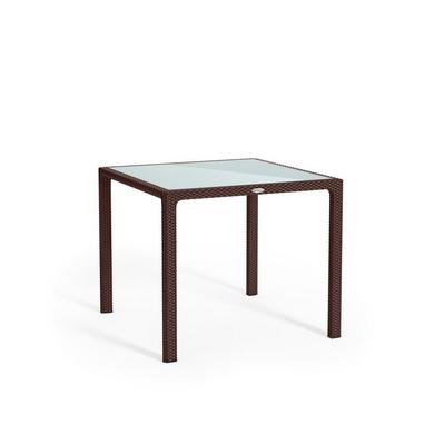 Small dining table mocha