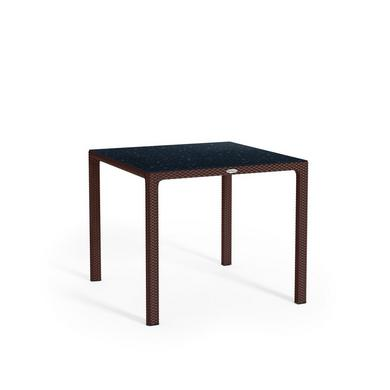 Small dining table with HPL tabletop mocha