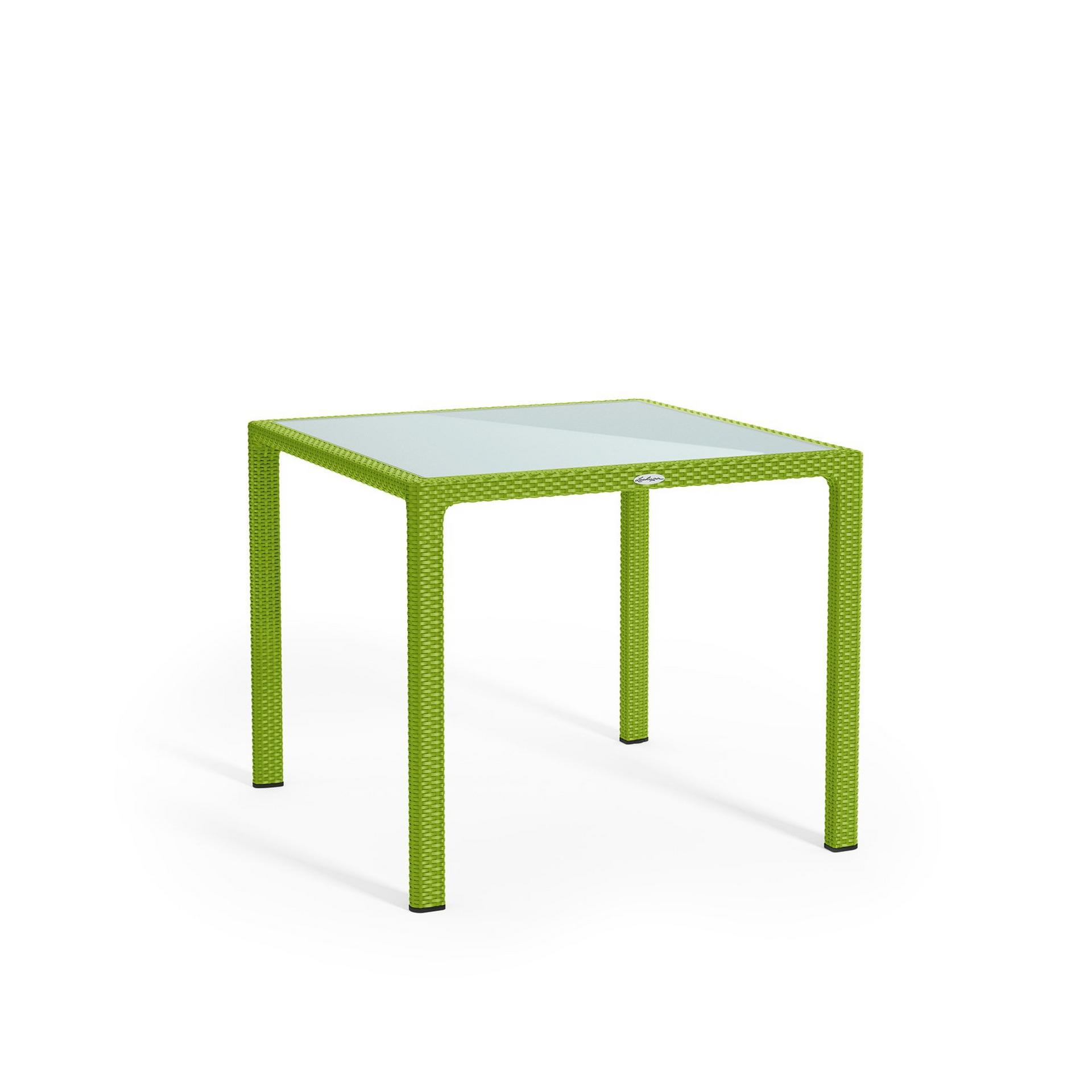 Small dining table apple green