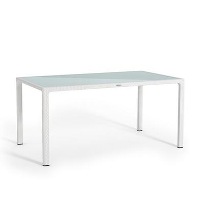 Large dining table white