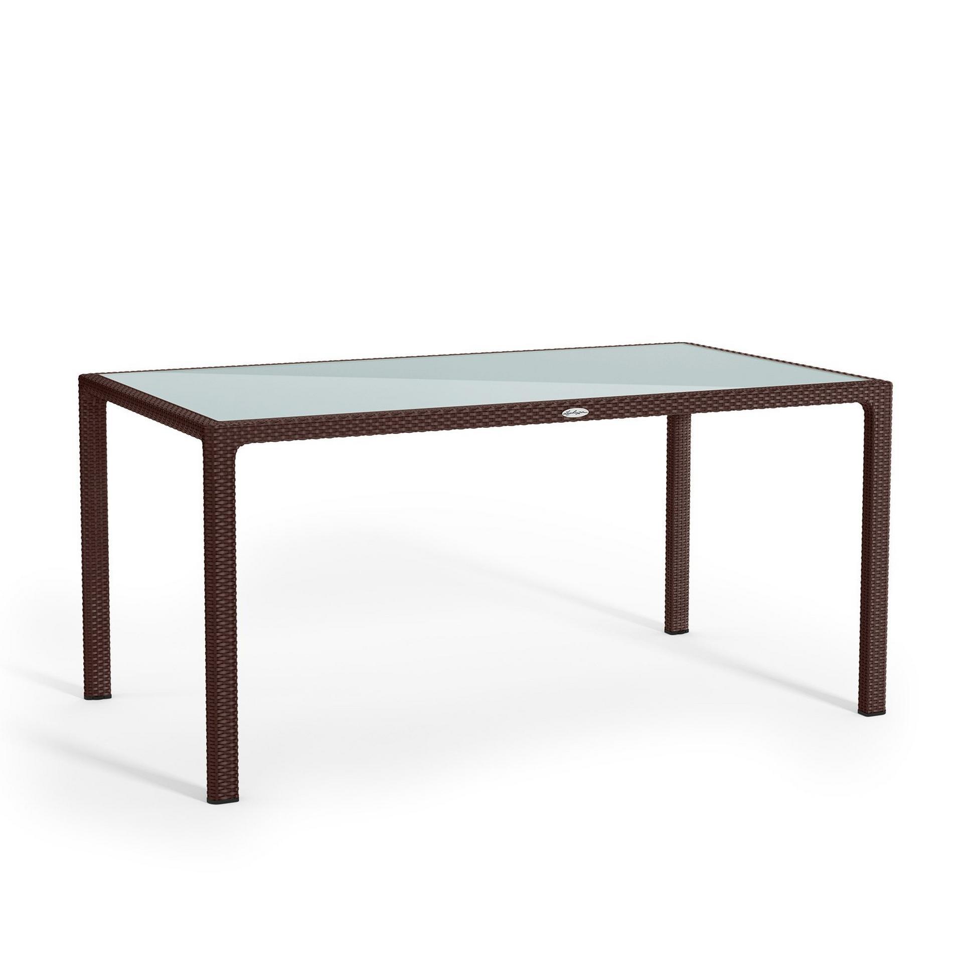 Large dining table mocha