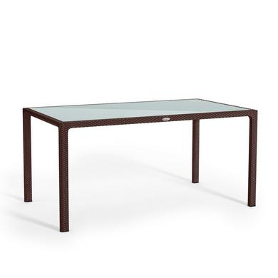 Large dining table mocha