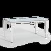 Esstisch mit HPL-Tischplatte groß weiß thumb