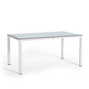 Large dining table with HPL tabletop white thumb