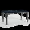 Esstisch mit HPL-Tischplatte groß granit thumb