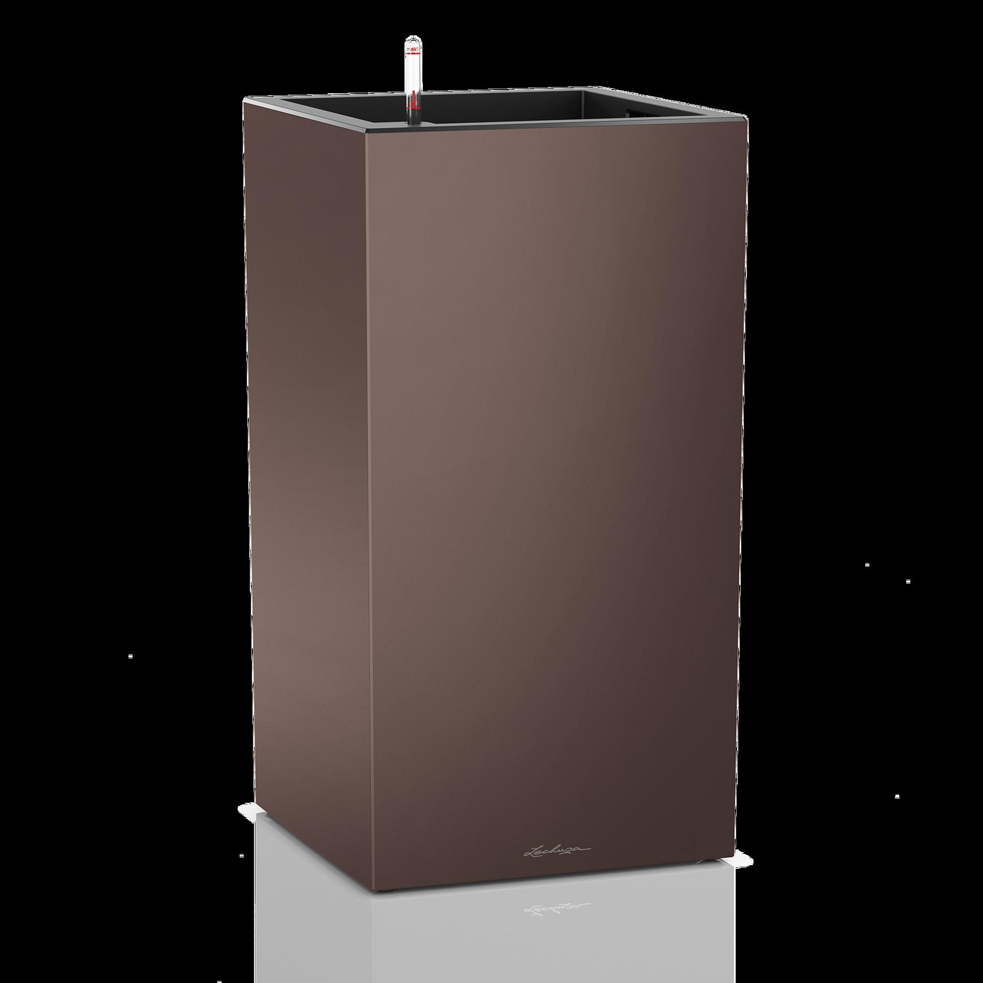 CANTO column 40 espresso metallic