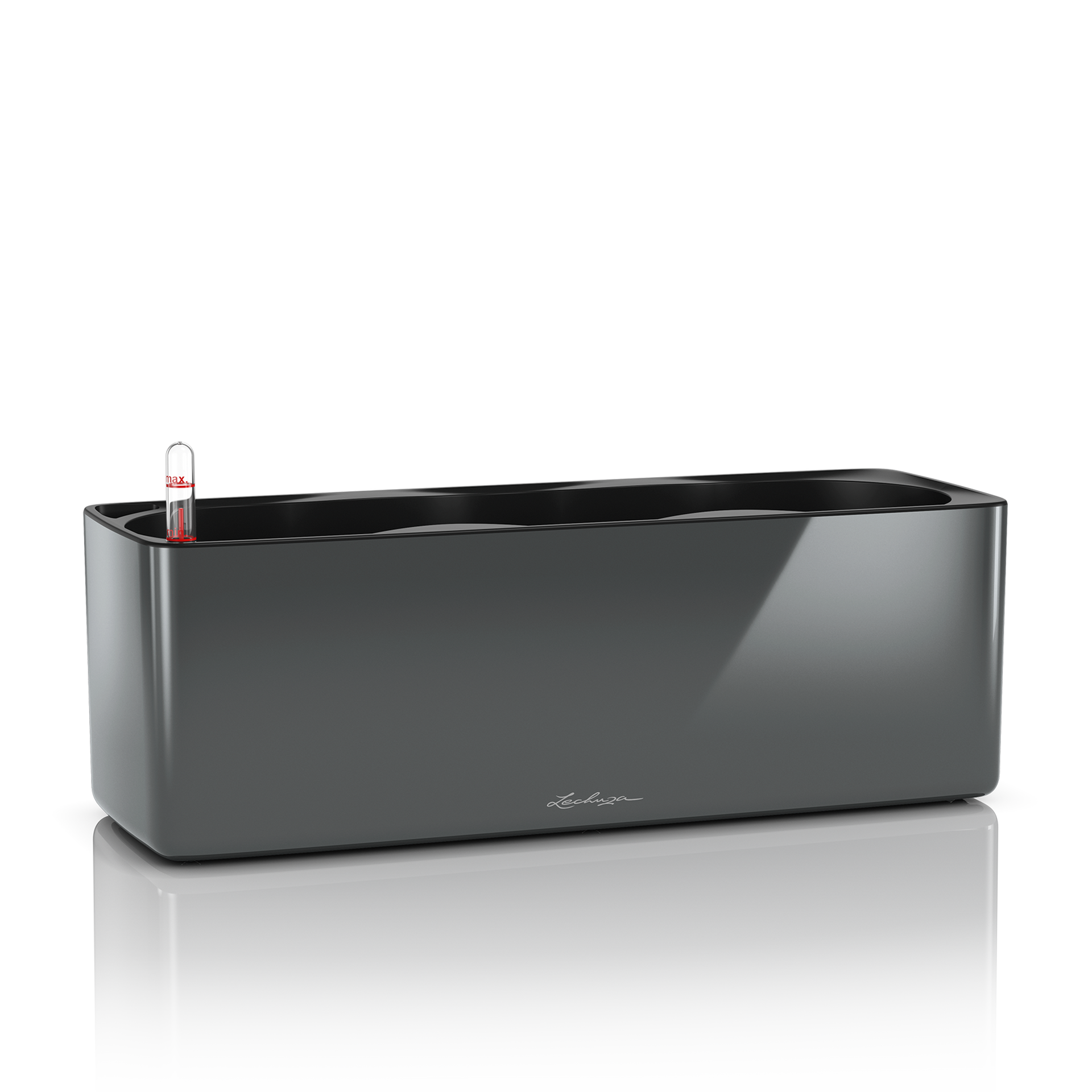 CUBE Glossy Triple charcoal high-gloss