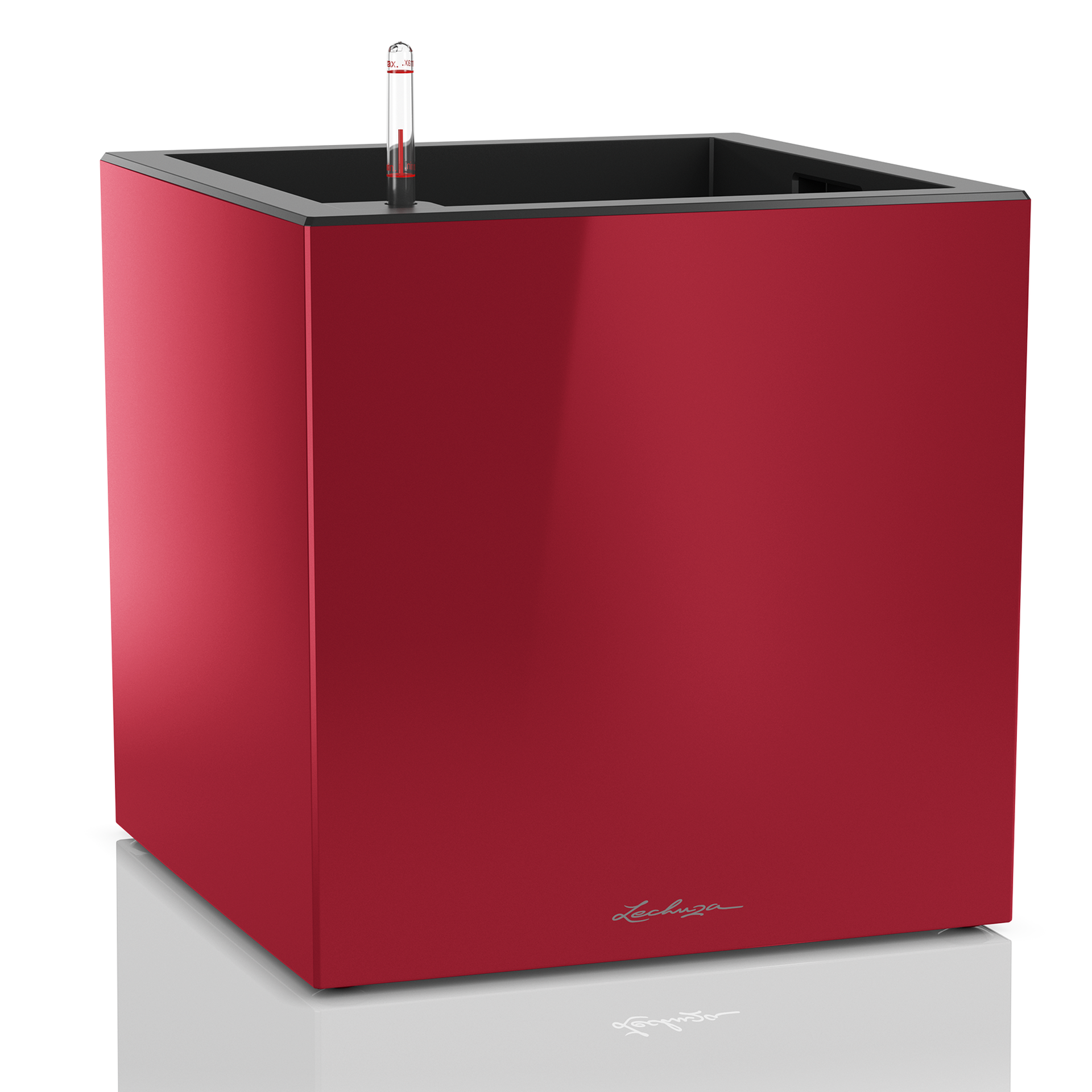 CANTO Cube 40 scarlet red high-gloss