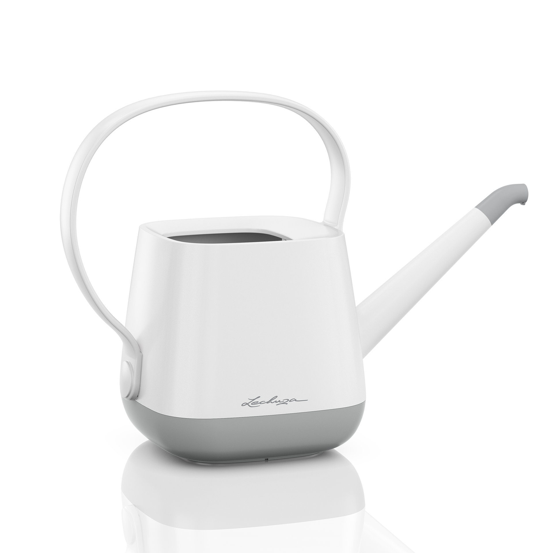 YULA watering can white/gray semi-gloss