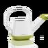 YULA gieter satijnwit/pistache groen