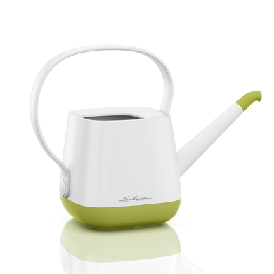 YULA watering can white/pistachio semi-gloss