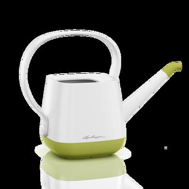 Innaffiatoio YULA bianco/verde pistacchio semi opache
