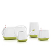 YULA set white/pistachio semi-gloss Thumb
