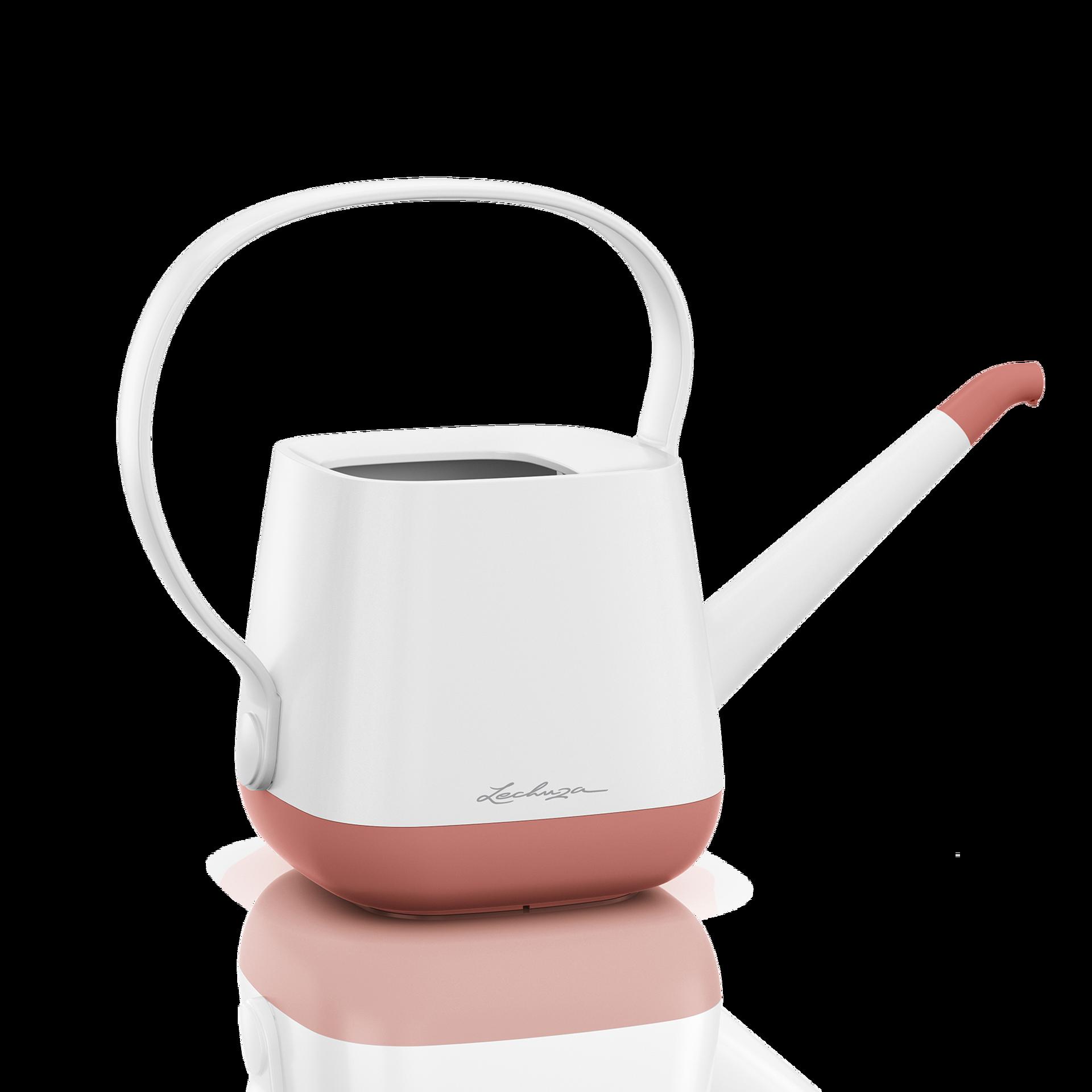 YULA watering can white/pearl rose semi-gloss