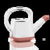 Regadera YULA blanco/rosa perlado satinado