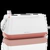 Корзинка для растений YULA белый/ярко-розовый