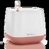 Maceta YULA blanco/rosa perlado satinado