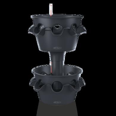 Torre CASCADA Color de 2 piezas gris pizarra