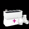 BALCONERA Color 50 blanc + LECHUZA-Accroche-balconnières thumb