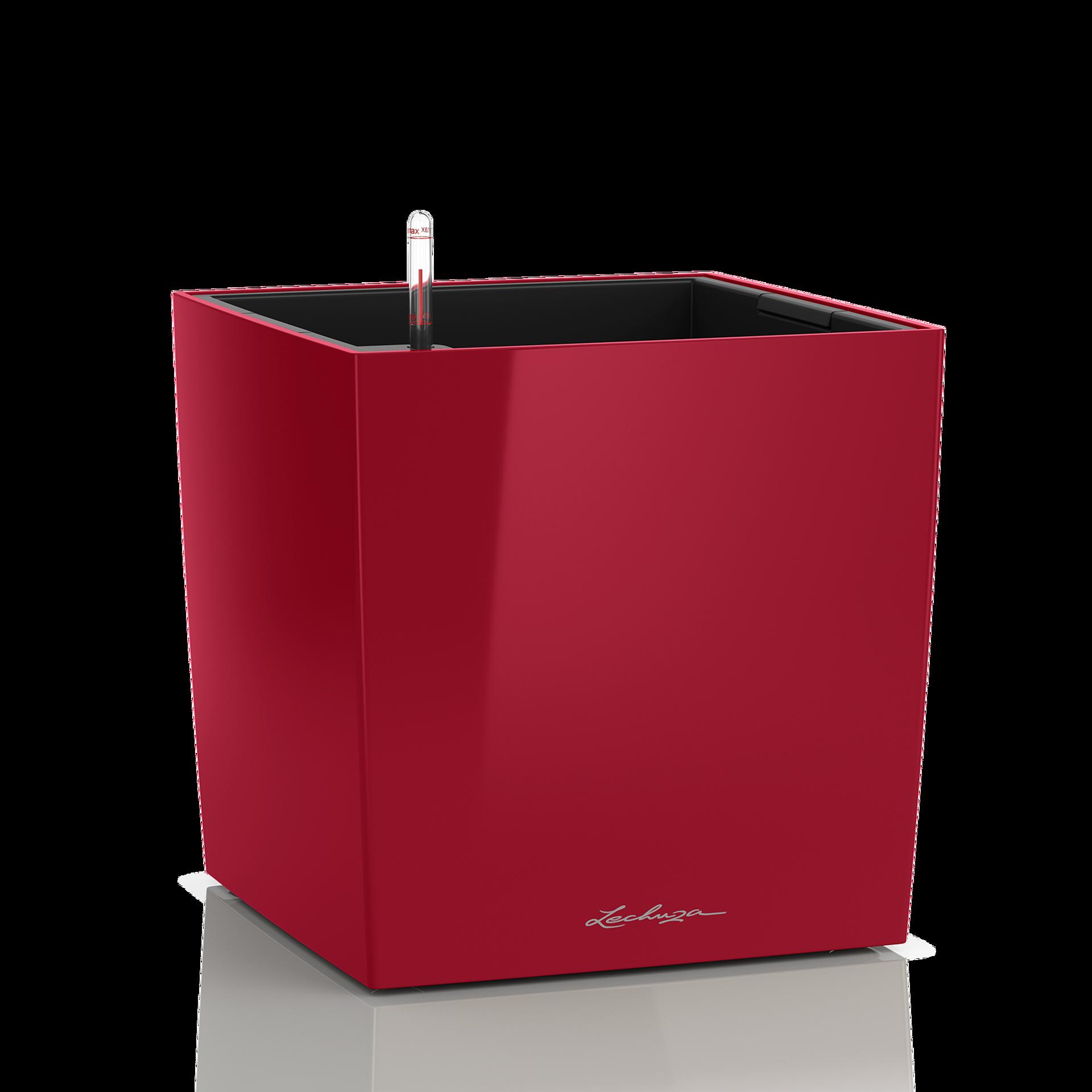 CUBE 30 rouge scarlet brillant