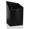 CURSIVO 30 black high-gloss