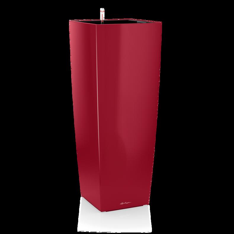 CUBICO ALTO rojo escarlata muy brillante
