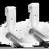 LECHUZA-Balkonkastenhalter weiß (2 Stk)