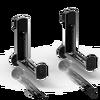 LECHUZA Soportes de balconera negro (2 uds) thumb