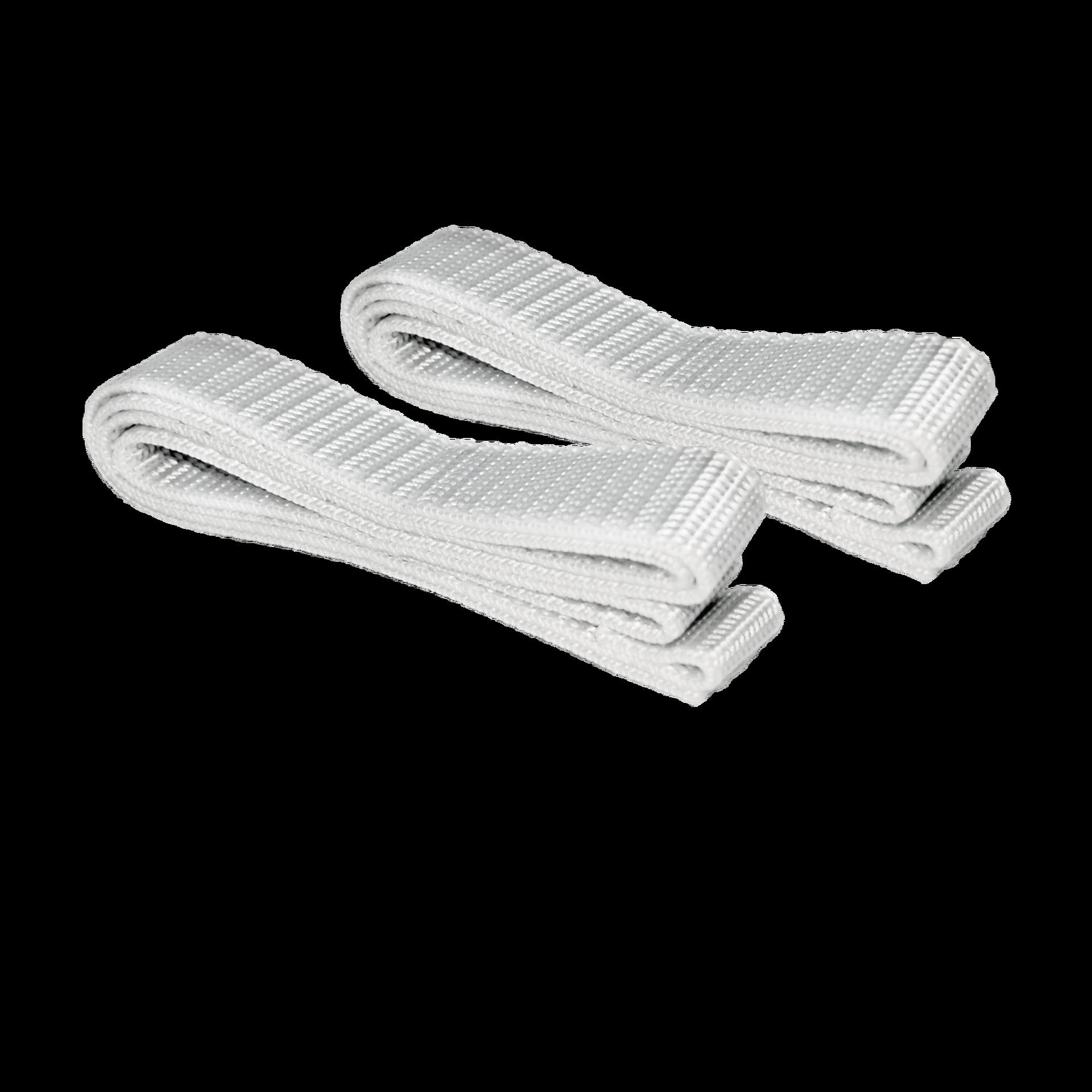 80 cm Belt Straps white for BALCONERA (2 pieces)