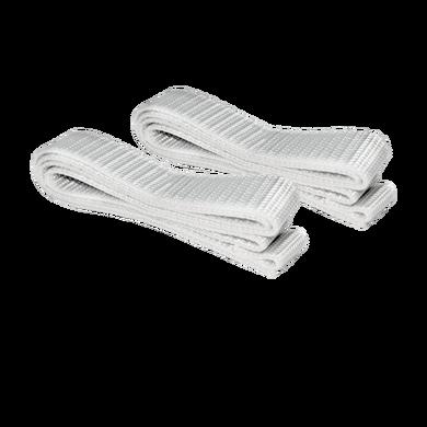 """Reserveset voor de Balconera bestaande uit (2 x) """"spanband 80 cm"""" wit"""