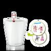 MINI-DELTINI artistic set with pony theme, white semi-gloss thumb