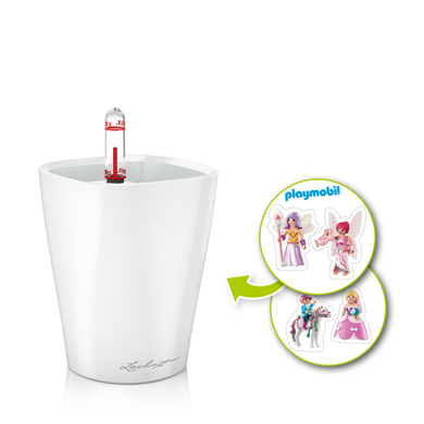 MINI-DELTINI Kinder-Set Pony, weiß seidenmatt