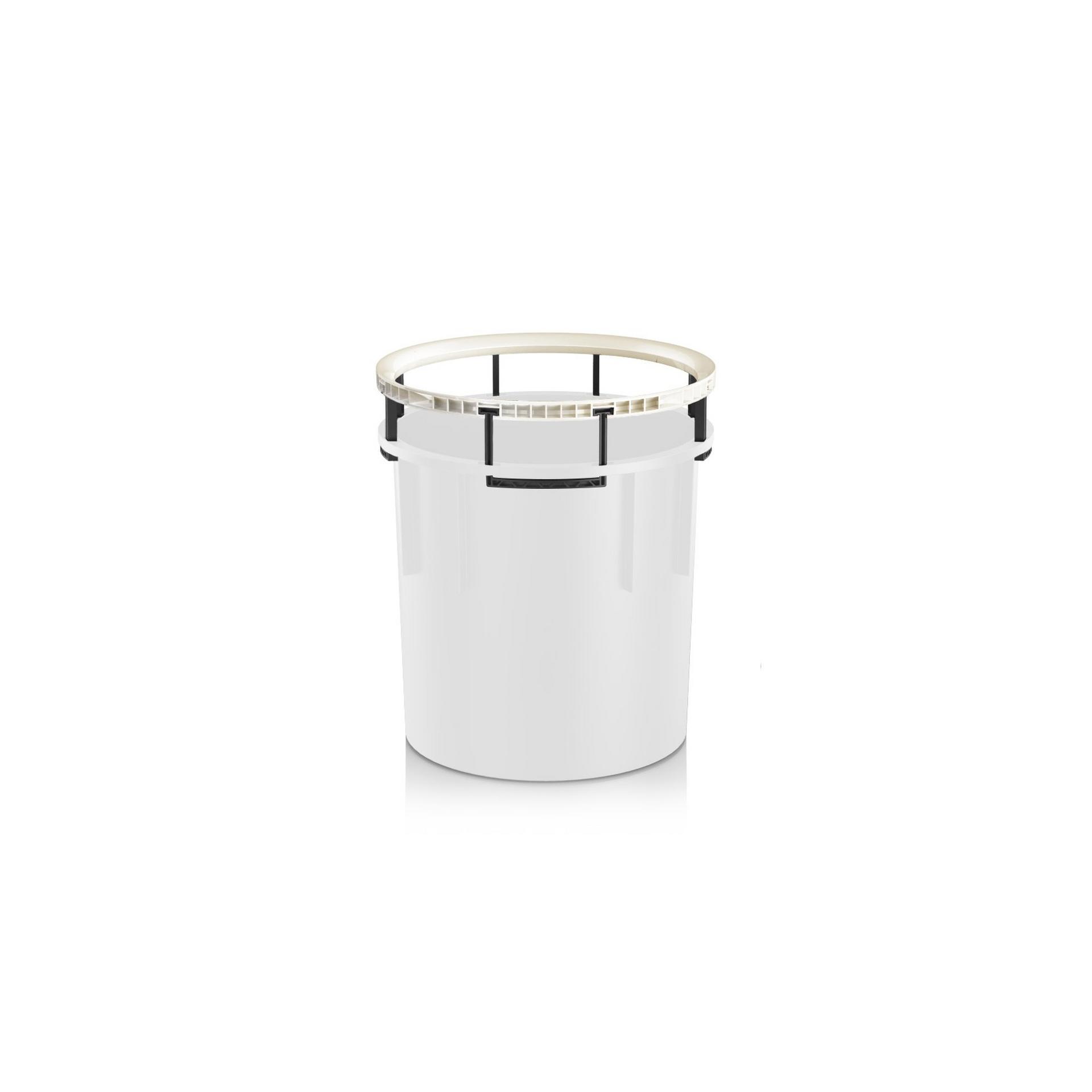 Frame handle for RONDO 40 | DIAMANTE 40 white high-gloss