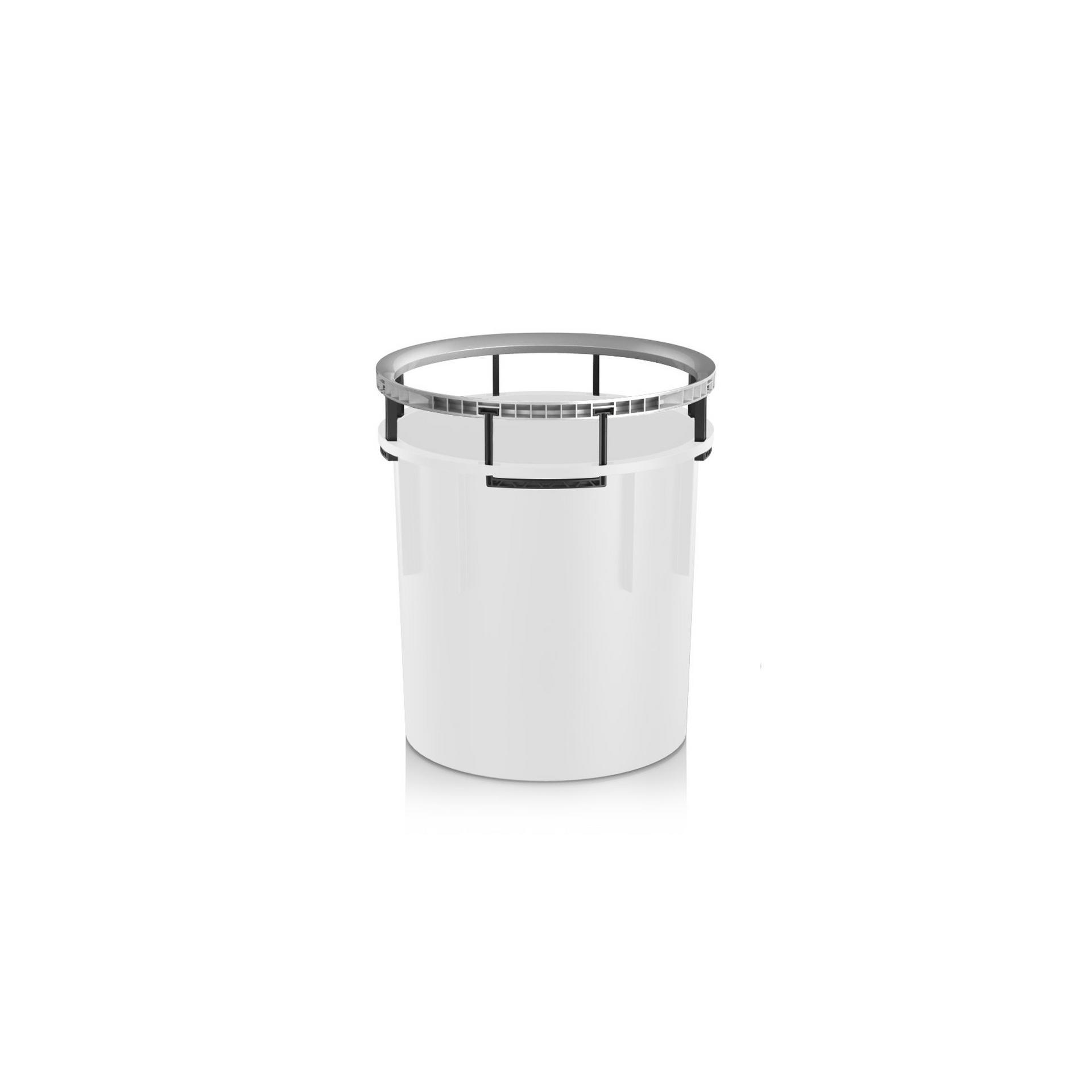 Frame handle for RONDO 40 silver metallic