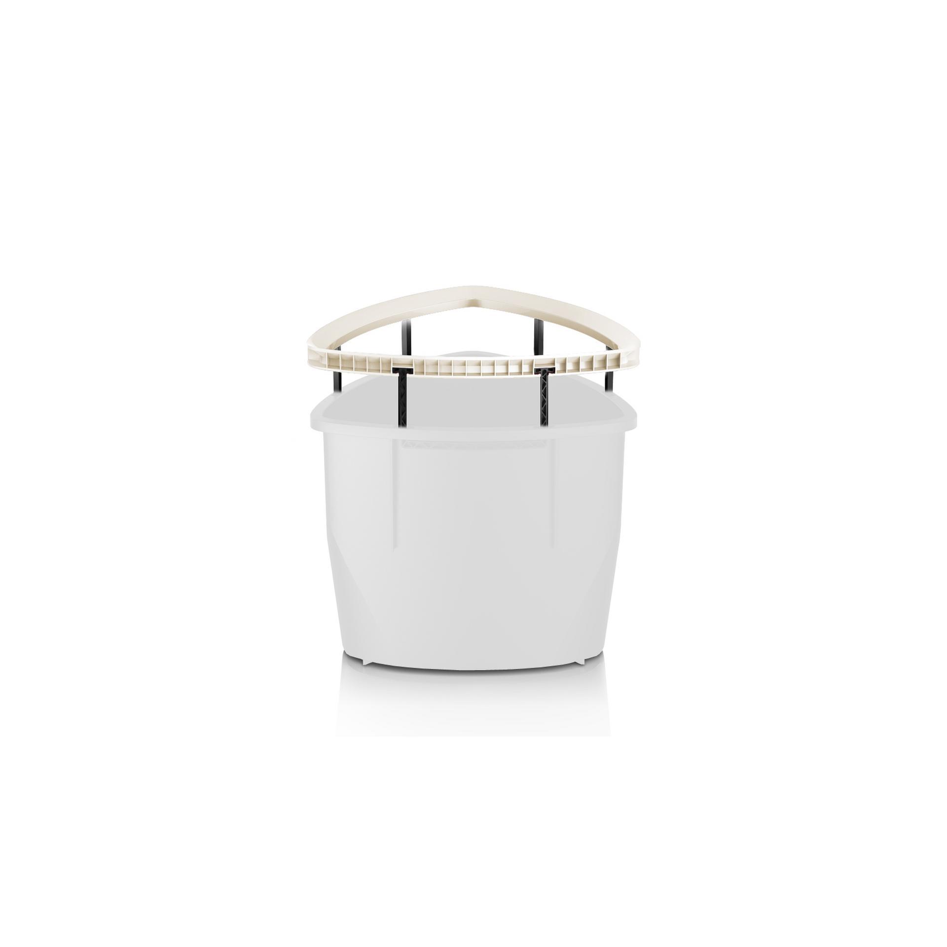 Frame handle for DELTA 30 white high-gloss