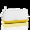 YULA plant bag white/light yellow semi-gloss Thumb