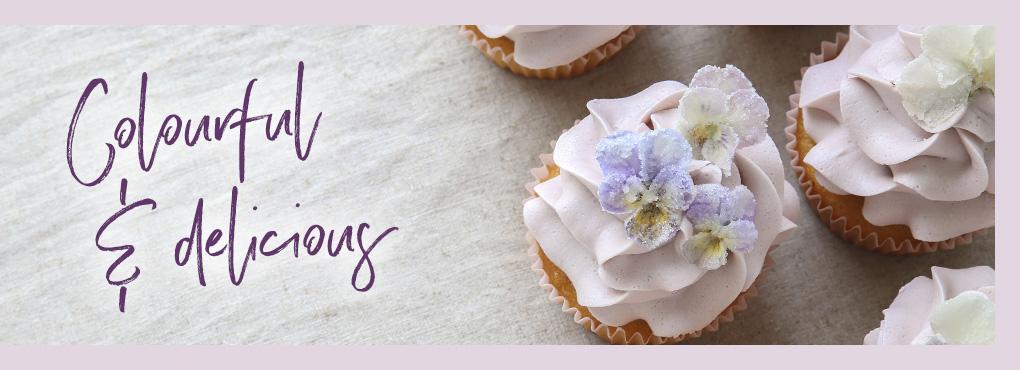 BLOSSOM'S BAKERY Готовим и печем с цветами