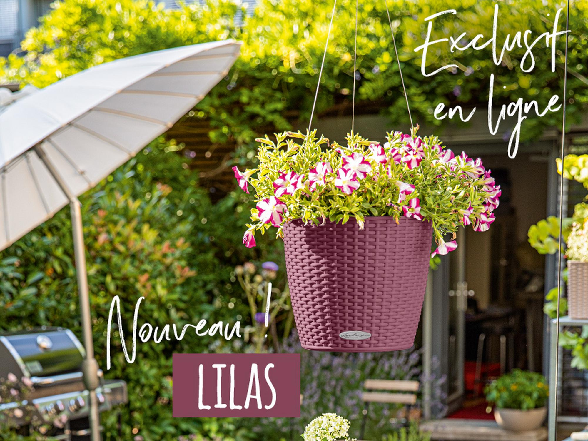 Nouvelle couleur printanière : NIDO Cottage en lilas