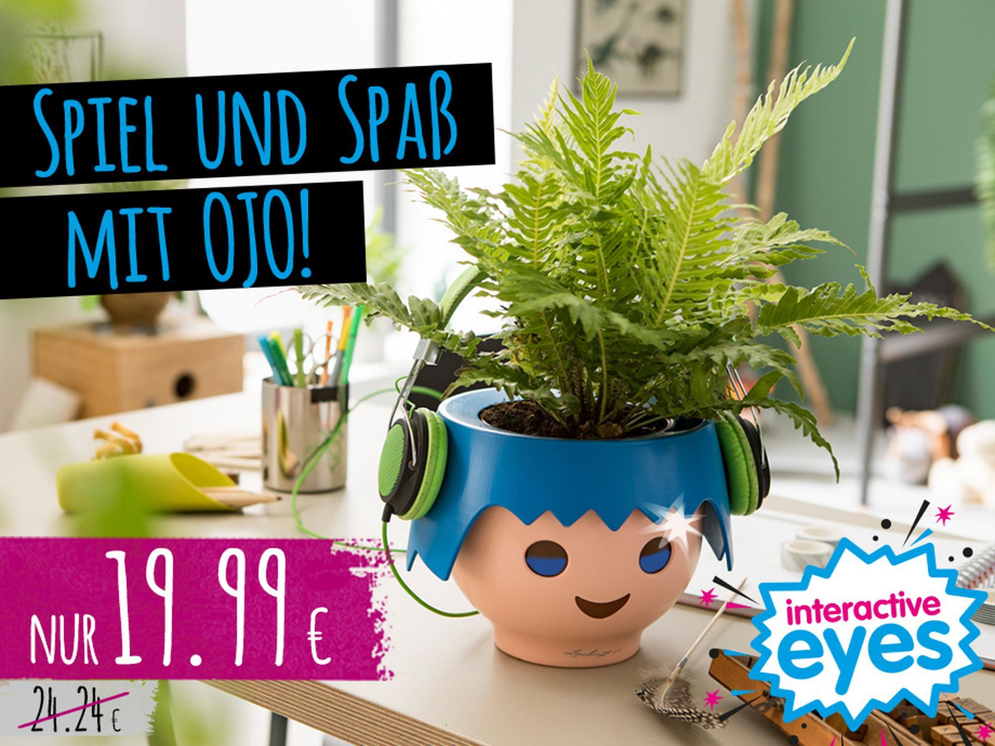 'Spiel und Spaß mit deinem Pflanzenfreund OJO - für nur 19