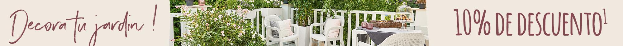 10% de descuento en nuestro mobiliario y la linea COTTAGE