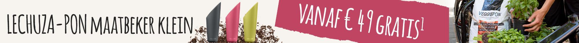 PON maatbeker klein vanaf € 49 gratis