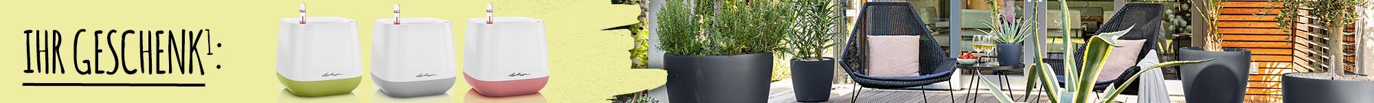 'Garten und Terrasse in Sommerlaune und ein YULA Pflanzgefäß ab 80
