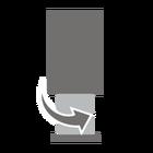 Diagonaal tegenover elkaar liggende stelschroeven maken een hoogtecompensatie mogelijk