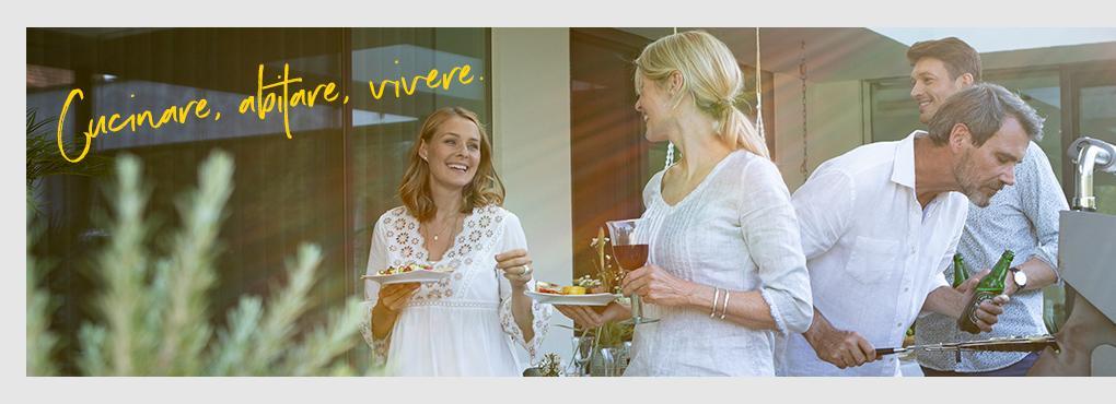 Idee di decorazioni e ricette per la tua cucina all'aperto con vasi per piante LECHUZA.